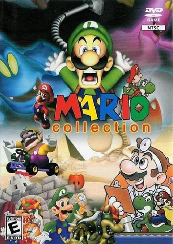 Jogo Mário Super Coleção Leia O Anúncio-patch Collection Ps2 Original