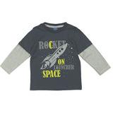 Camiseta Manga Longa Rocket TMX Kids&Teens