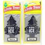 2 Little Trees Original Aromatizador Black Ice Little Tree