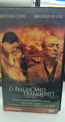 O Americano Tranquilo -vhs Original