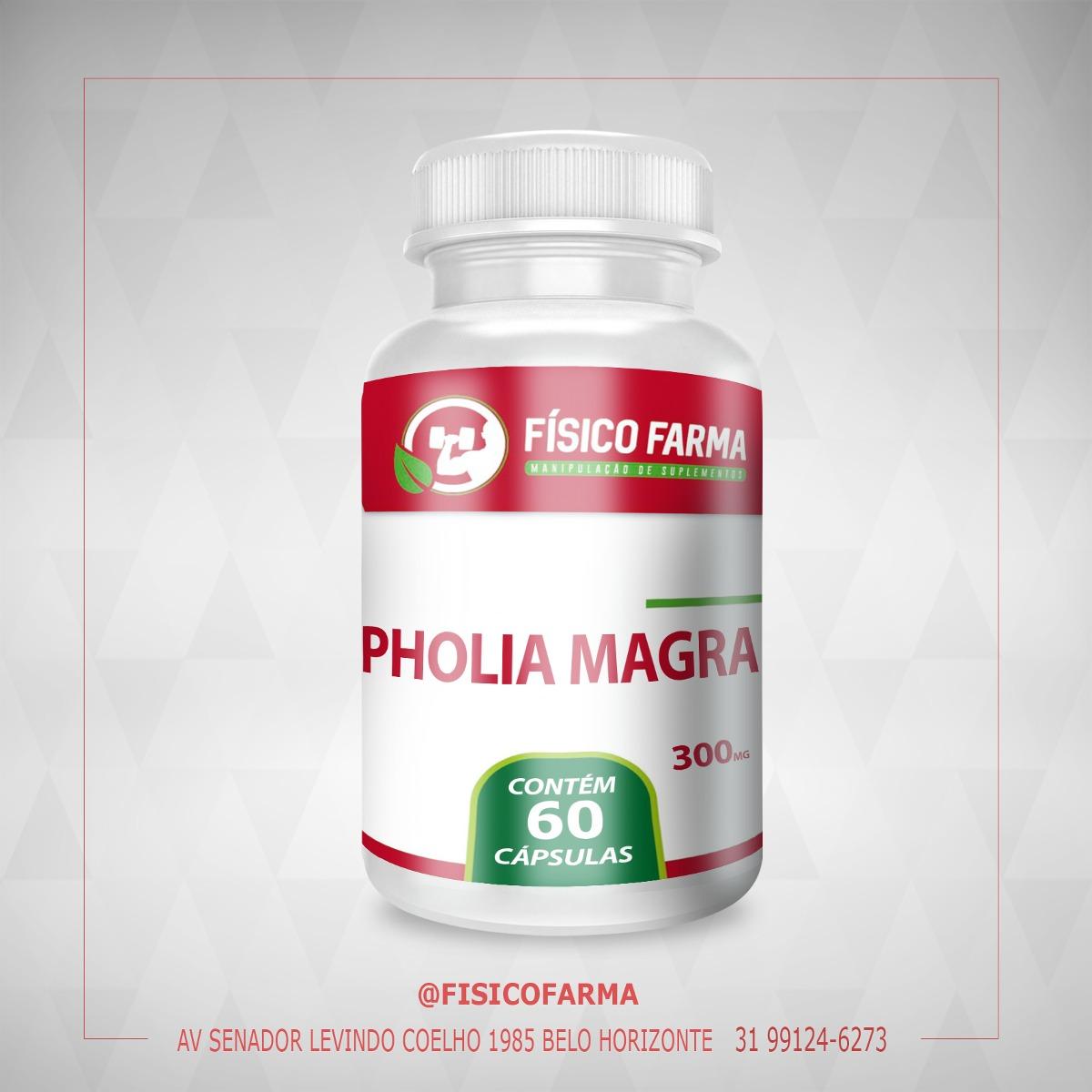 PHOLIA MAGRA - 60 CÁPSULAS