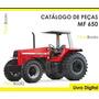 Catálogo De Peças Trator Massey Ferguson Mf 650