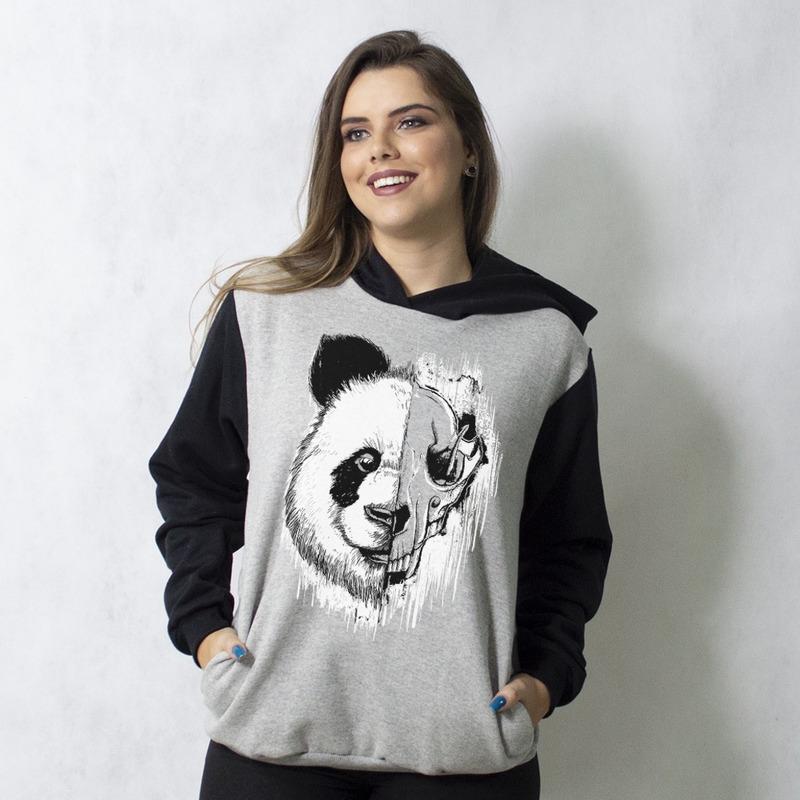 MOLETOM RAGLAN - PANDA