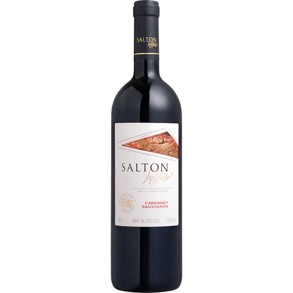 Vinho Fino Intenso Cabernet Sauvignon 750ml - Salton