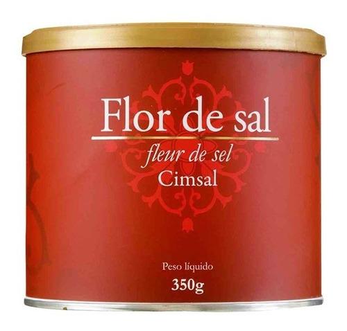 Flor De Sal 350g -  Sal Flocos 01kg - Castanha Banda 1/2kg Original