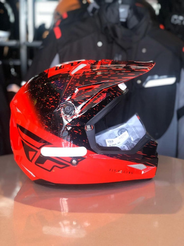 Capacete Infantil Fly Kinetic K120 Motocross Original