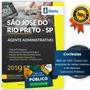 Apostila São José Do Rio Preto 2019 Agente Administrativo