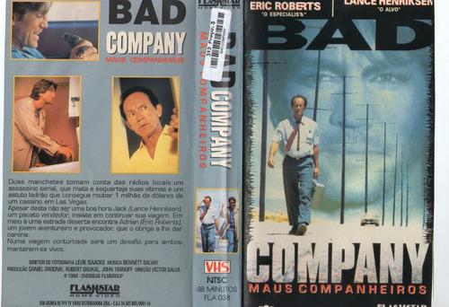 Bad Company Maus Companheiros - Eric Roberts - Raro