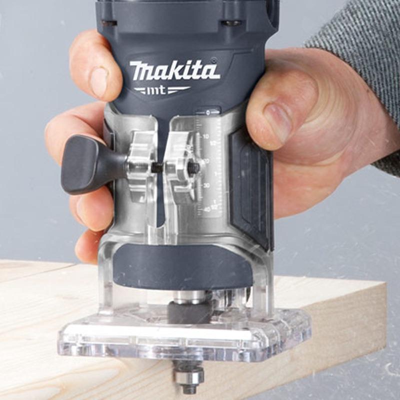 Tupia Manual 6MM - 1/4POL - 530 Watts - M3700G - Makita