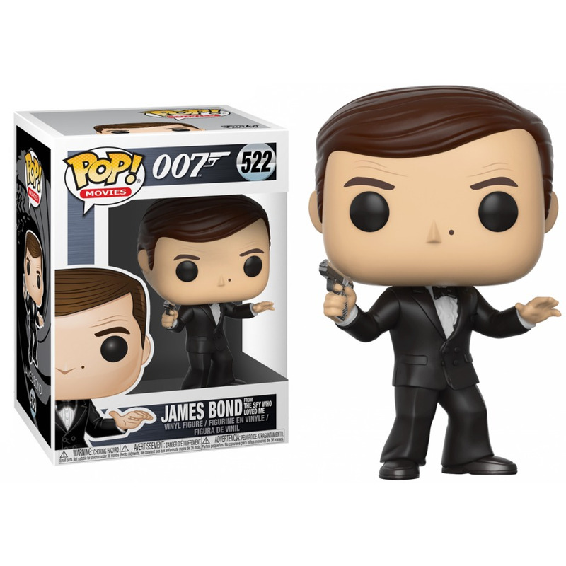 James Bond Pop Funko #522 - Roger Moore James Bond - O Espião que Me Amava