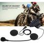 Intercomunicador Fone De Ouvido Earphone De Moto Bluetooth 4