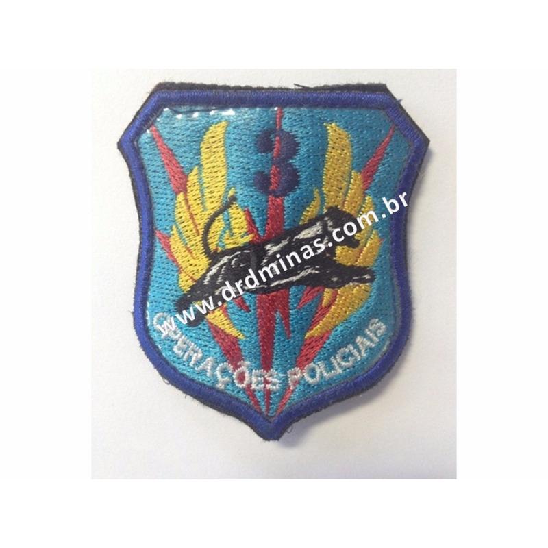 Distintivo Bordado Operaçoes Especiais - III