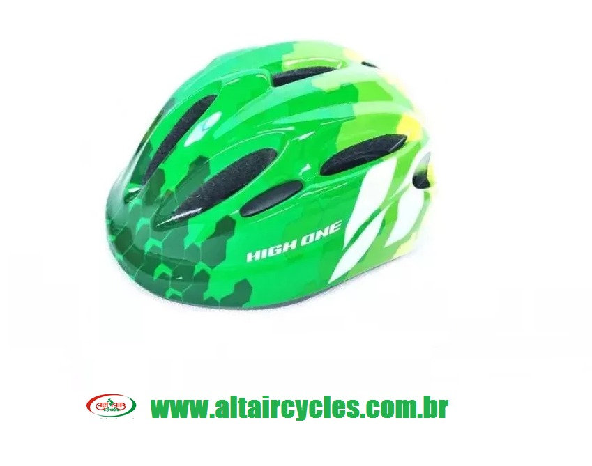 CAPACETE HIGH ONE MOD: LM 024 VERDE