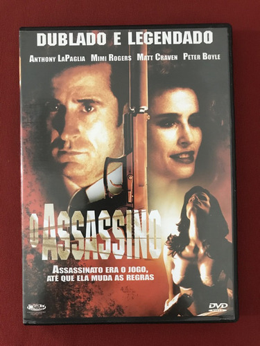 Dvd - O Assassino - Anthony Lapaglia/ Mimi Rogers - Seminovo Original