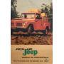 Manual Pickup Jeep Original