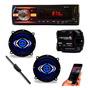 Mp3 Player Toca Rádio Bluetooth Usb Falante 5 Módulo 160