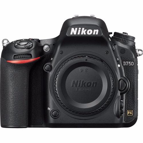 Nikon D750 Fullframe, 24,3 Mp, Wifi Nfe + 2 Anos De Garantia Original