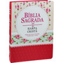 Bíblia Sagrada Grande / Letra Gigante, Harpa, Capa Vermelha