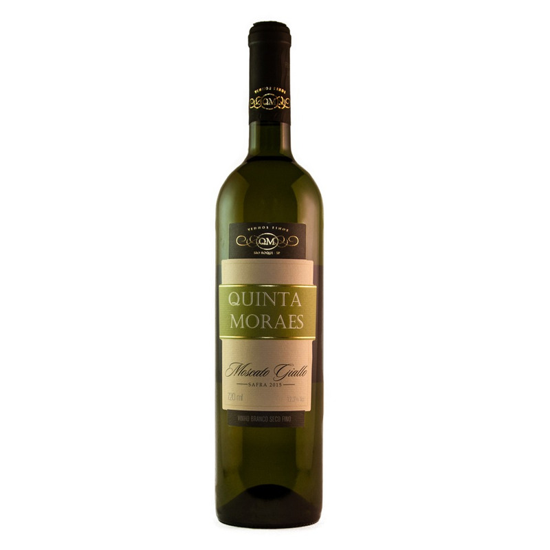 Vinho Fino Branco Moscato Giallo 720 ml - Quinta Moraes
