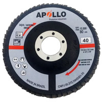 DISCO FLAP 115X22 GR40 FLAPANG BASIC APOLLO 10 UNIDADES