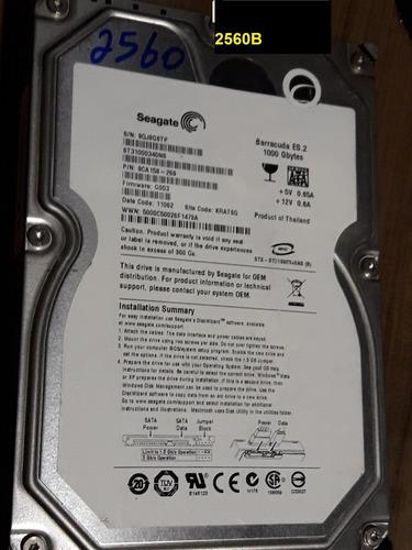 Placa Logica Hd 1 Tb St31000340ns - Fw G003 - Cod 2560b Original