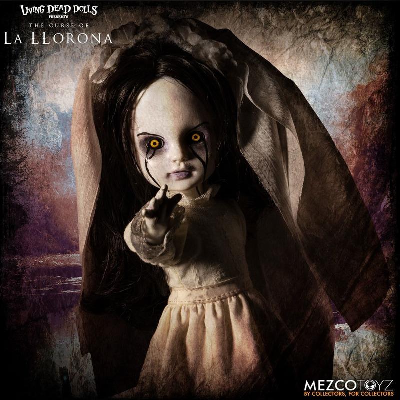 Boneca La Llorona Living Dead Dolls - 25,5 cm - Mezco Toys