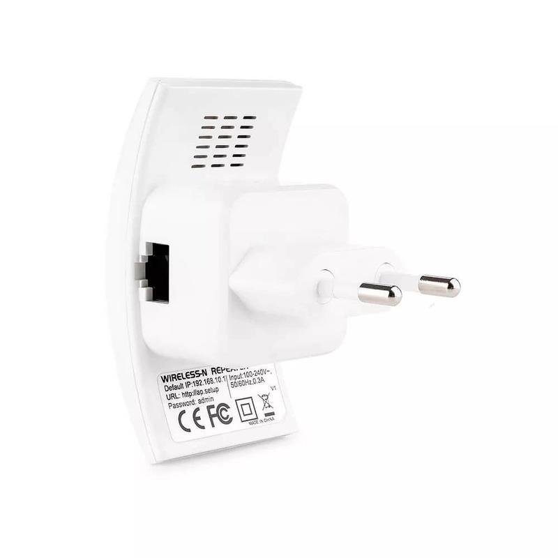 Repetidor de Sinal Wifi 300 Mbs Multilaser - RE055
