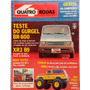 Quatro Rodas Nº341 Quantum, Br800, Escort Xr3, Volvo 760