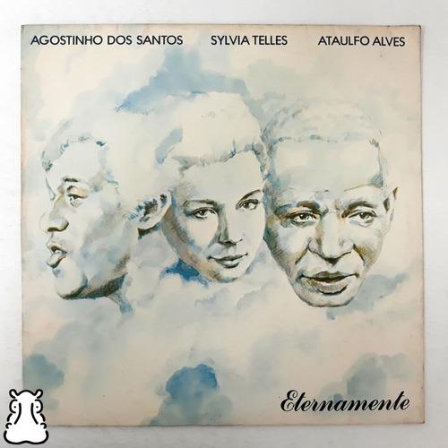 Lp Agostinho Sylvia Telles Ataulfo Eternamente Disco Vinil Original
