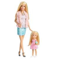 Boneca Barbie e Chelsea Três é Demais - Mattel