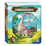 Dinossauros Com Quebra Cabeça Livro Infantil Ilustrado