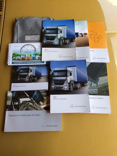 Manual De Instruções Caminhão Mercedes Benz Axor 2012 Original
