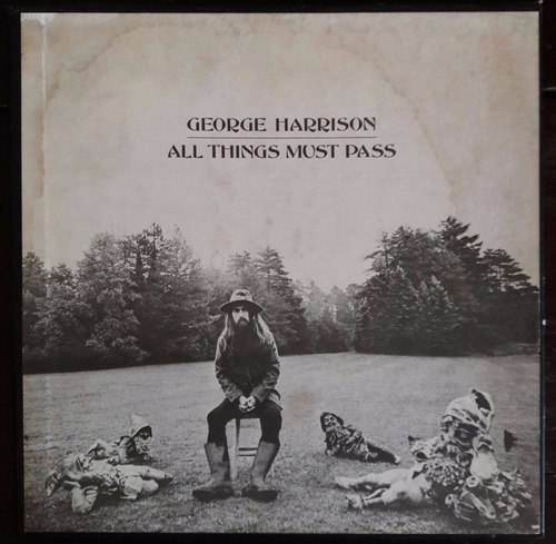 Box - George Harrison ¿ All Things Must Pass - Imp - Lp 40