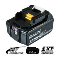 Bateria de Íons de Lítio - 18V/4.0AH - BL1840B - Makita<BR>
