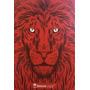 Bíblia Jesus Copy Leão Vermelha Capa Dura