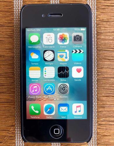 iPhone 4s 8gb - Seminovo Perfeito Estado - Desbloqueado Original