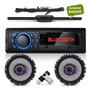 Aparelho Som Radio Mp3 Bluetooth Falante 6 Pioneer Antena
