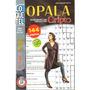 Livro Passatempo Cripto Nível Médio 4 Em 1 Opala Plus 201