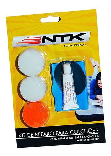 Kit De Reparo Cola Pvc Ntk P/ Infláveis Botes Colchões Boias Original