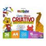 Bloco Criativo Livro Origami Todo Livro A4 36 Fls 1149512