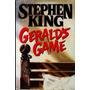 Livro Gerald's Game 1ª Edição Stephen King