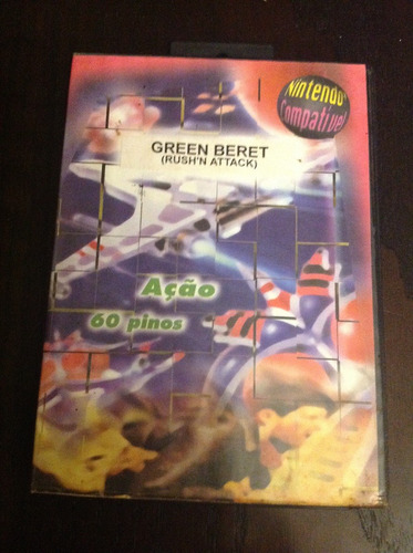 Green Berret (rush'n Attack) Original Completo