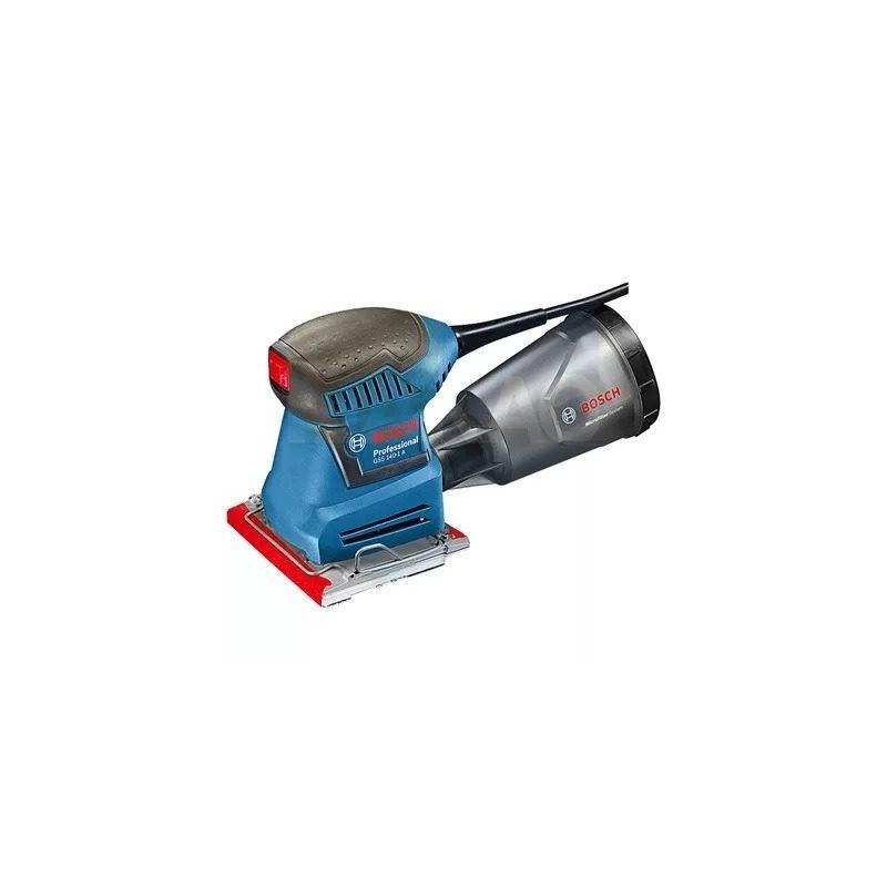 Lixadeira Orbital 115mm 180 Watts + Coletor de Pó GSS 140-1-A - 0 601 2A2 1D0 - Bosch