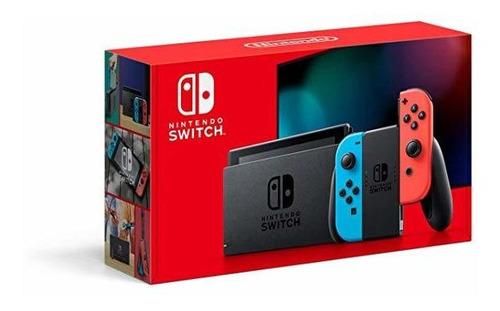Nintendo Switch Neon Mod Novo Xqw 2 Joycons - Pode Retirar Original