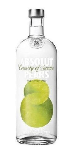 Vodka Absolut Sabor Pears Pera 1 Litro Original