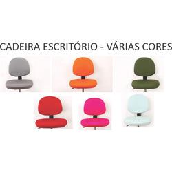 05 Capas  Color p/ Cadeira Escrit&oac...