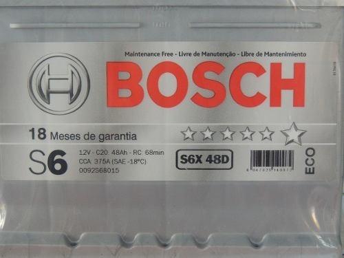 Bateria Selada Bosch S5 60ah Linha  Vw