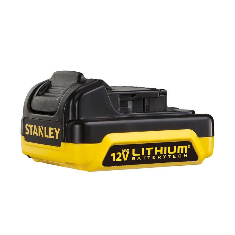 Parafusadeira e Furadeira de Impacto Ion Litio 12V 2 Baterias Bivolt SCH12S2K-BR Stanley