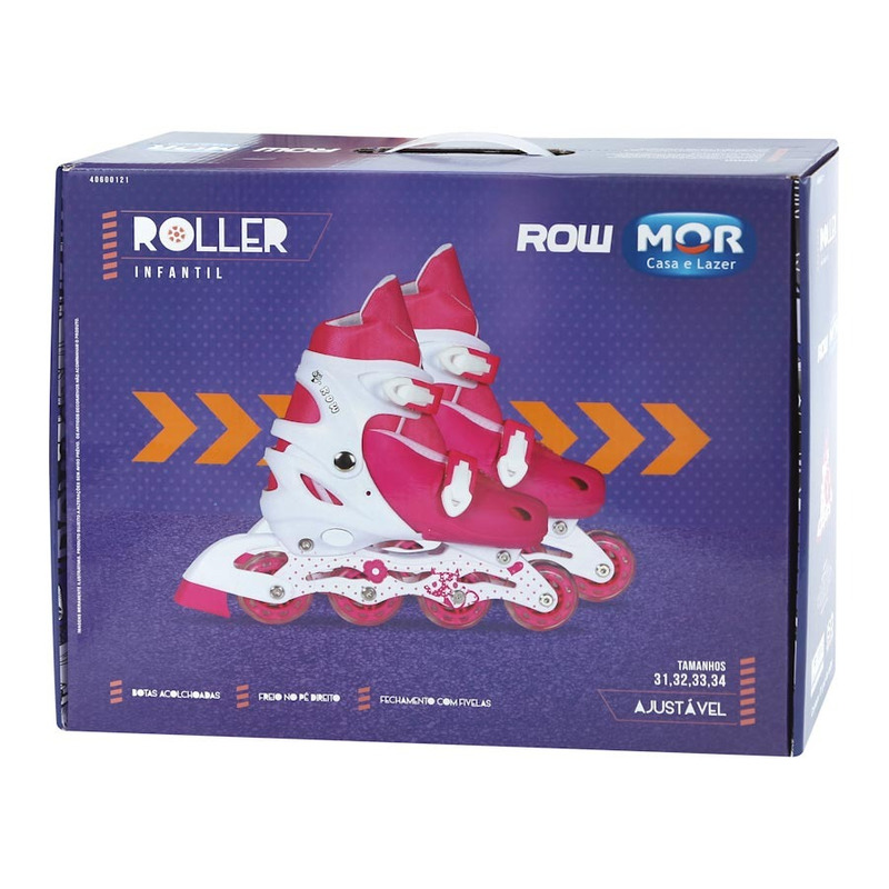 Roller Infantil Rosa - Tamanho P 30-33 40600121 - Mor