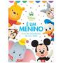 Livro Album De Recordações Bebê É Um Menino Disney